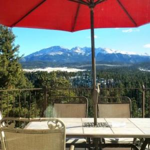 Pikes Peak Paradise Bed and Breakfast Woodland Park